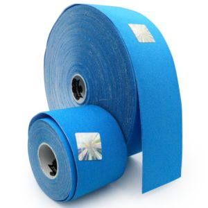 Kinesiology Tape - Synthetic Fibers special for SPORTS - Ultra Long Lasting Joint Support - Blue Color - 5cm x 5m by Rockford Kinesiology