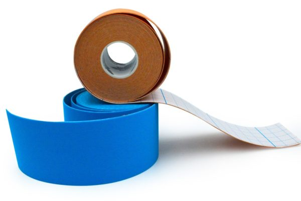Athlos Tape 4-Way-Stretch - Special for SPORTS - Blue Color 5cm x 5m
