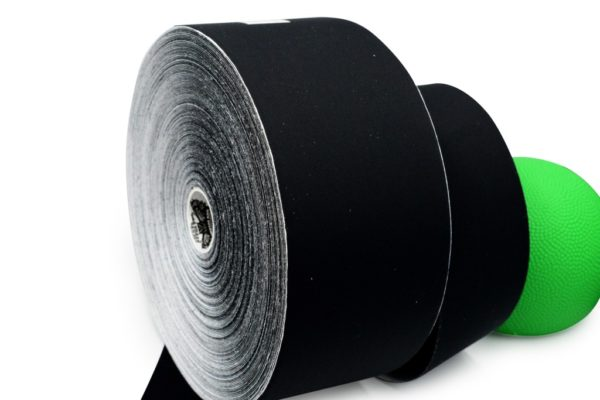 Biomechanical Tape - Athlos Supreme - 7.5 cm x 32 m - Special Edition for SPORTS & Performance by Rockford Kinesiology - Black Color