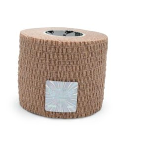 Wrap Sports Tape - Very Easy Tear & Ultra Resistant - Special for SPORTS - Beige Color