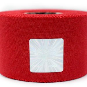 Rockford Kinesiology Zinc Oxide SPORTS Tape - Ultra Resistant – Color Red