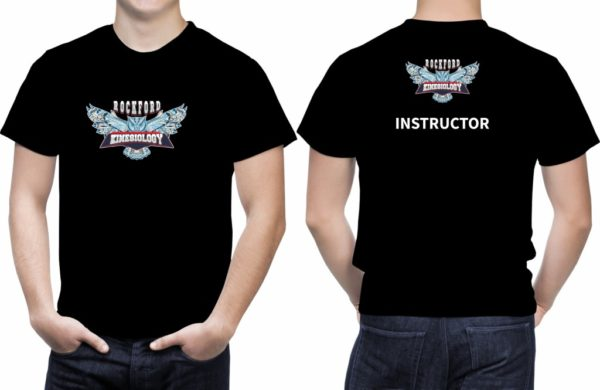 Tricou RockT-shirt with Rockford Kinesiology Logo INSTRUCTOR- 100% Cotton ford Kinesiology