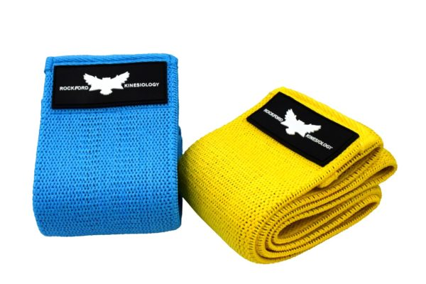 Resistance Loop Bands Rockford Kinesiology for Sports & Physical Therapy (set of 2)